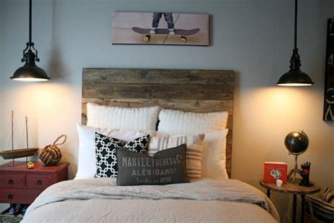 beautiful wooden headboards   warm  inviting