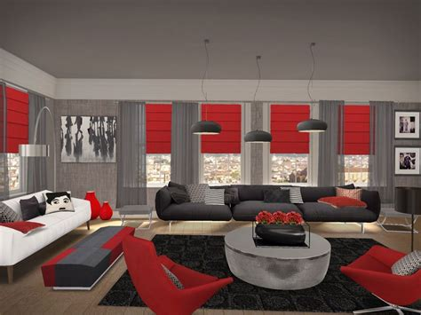 black and red living room living rooms black red google search living rooms
