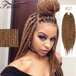 medium box braids with color dreadlocks extens 245 es de cabelo loiro ombre popular