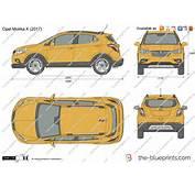 The Blueprintscom  Vector Drawing Opel Mokka X