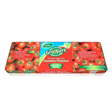 Gro Sure Tomato Planter by B M Gt Gro Sure Tomato Planter 65l 295035