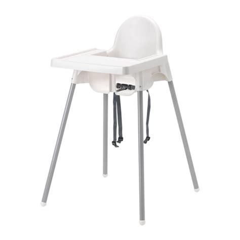 chaise haute enfant ikea antilop structure chaise haute tablette ikea