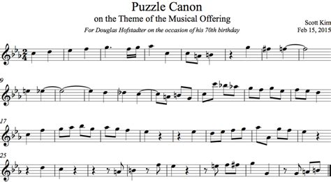 themes definition music puzzle canon on the theme of the musical offering scott kim