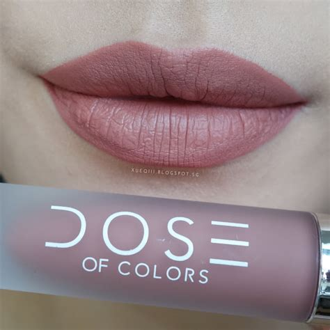 Dose Lipstick Sephora dose of colors liquid matte lipstick review and swatches xueqi s episode
