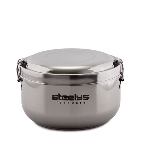 large food container stainless steel food containers steelys drinkware