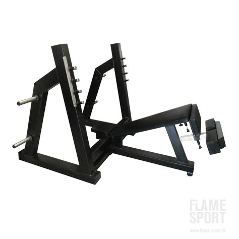 how to make a decline bench at home olympic decline chest press bensch 3a flame sport