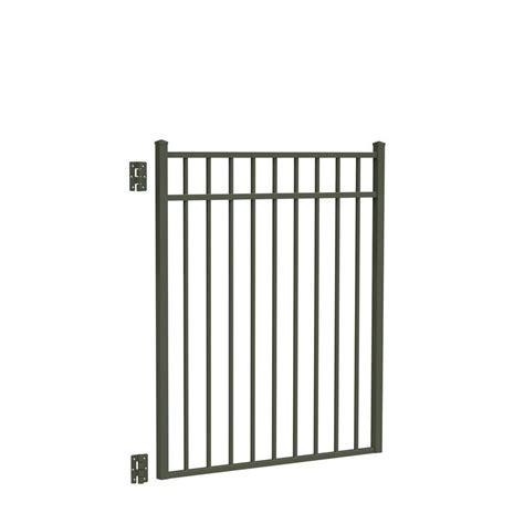 Home Depot Beechmont by Tuffbilt Beechmont Standard Duty 4 Ft W X 4 Ft H Black Aluminum Pre Assembled Fence