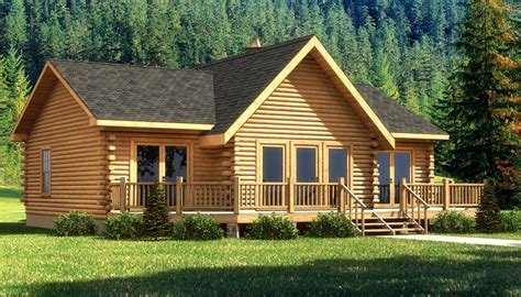 cabin plans wateree iii plans information southland log homes