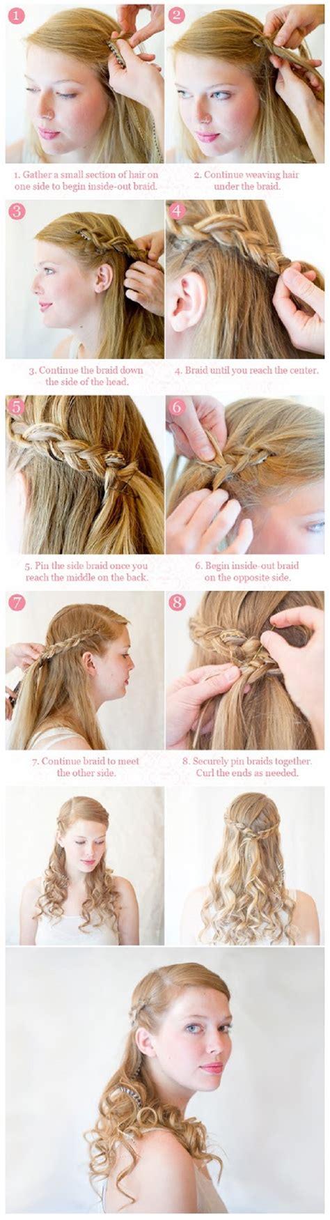 down hairstyles tutorial 13 half up half down hair tutorials