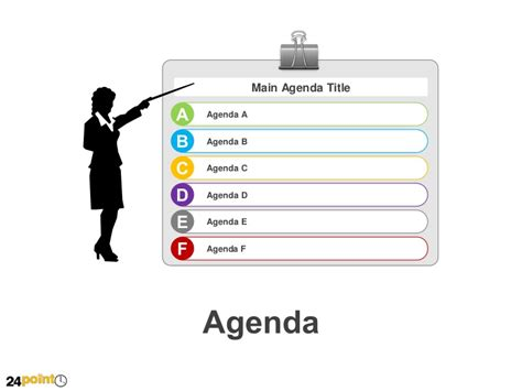 Powerpoint Agenda Template by Agenda Powerpoint Template