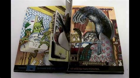 pop up haunted house stop motion pop up book haunted house by jan pienkowski youtube