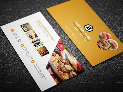 restaurant business card template restaurant business cards designs creativetemplate