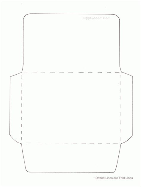 how to make envelopes template make your own envelope ziggity zoom