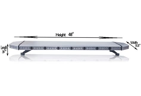 Saber Led Light Bar 48 Saber Tir Light Bars 2 0 Emergency Led Led Outfitters