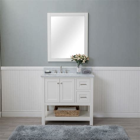 bathroom vanities wilmington nc alya bath wilmington 36 in single bathroom vanity in