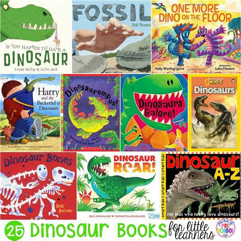 dinosaur picture book dinosaur books for preschool pre k and kindergarten