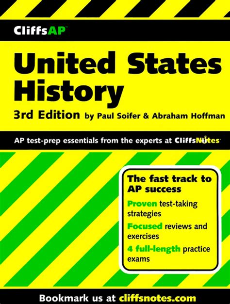 united states history preparing for the advanced placement examination 2018 edition cliffsap united states history preparation guide 3rd edition