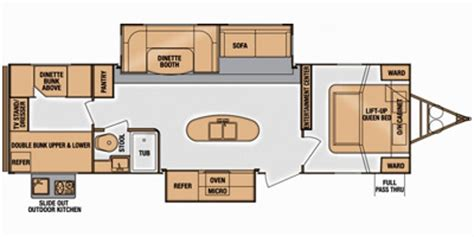 fun finder floor plans 2014 cruiser rv fun finder series m 299 kiqb specs and