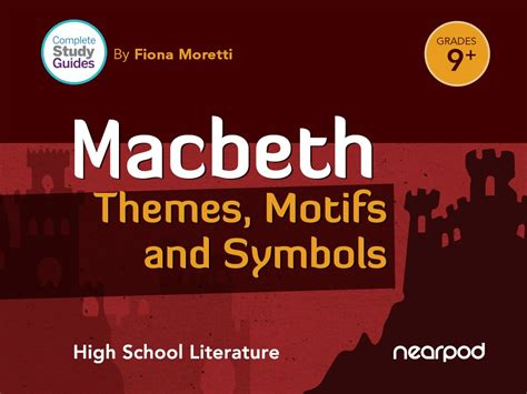 macbeth themes with quotes macbeth themes motifs and symbols