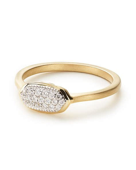 Pave Ring by Isa Pave Ring Kendra