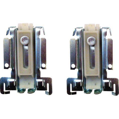 closet door guide prime line closet door guide assembly bottom mount n 6551