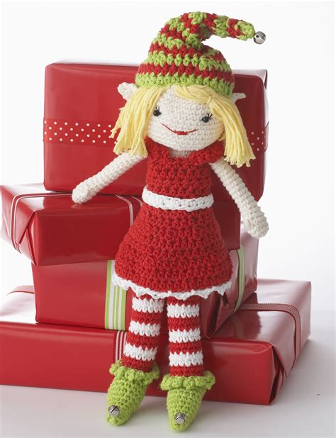 knitting pattern christmas elf lily lily the christmas elf doll crochet pattern