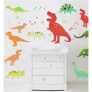 Dinosaur Stickers For Walls Dino Fun Dinosaur Wall Stickers Nursery Stickers