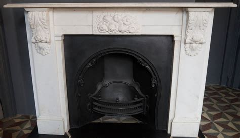 Large Marble Fireplaces by Large Statuary White Carved Marble Corbel