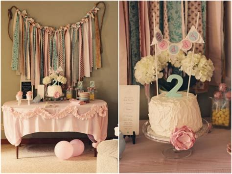 real parties charming shabby chic birthday party the