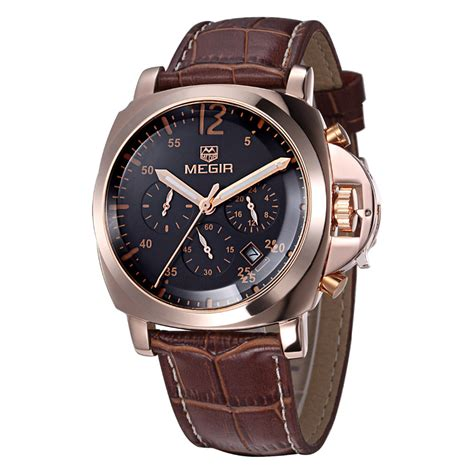 2016 fashion casual megir luxury chronograph