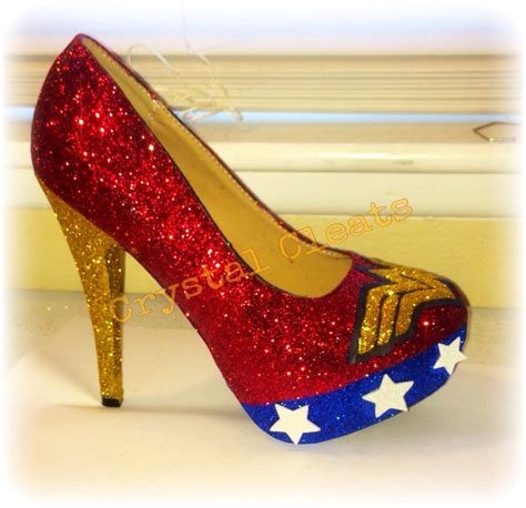 comic inspired high heel stiletto by