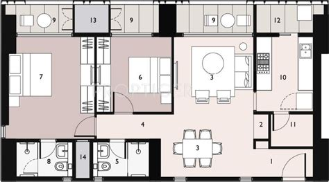 lodha new cuffe parade floor plan 1638 sq ft 3 bhk 2t apartments in lodha new cuffe parade
