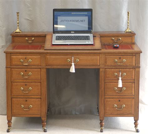 oak desk for sale antique victorian oak dickens desk ref 4025 for sale