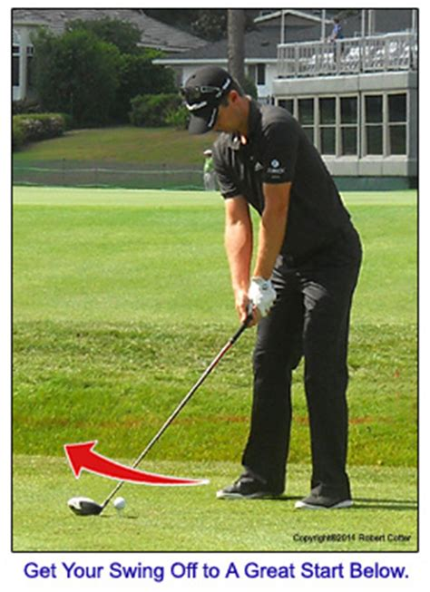 how to make a good golf swing golf swing takeaway lessons with photos