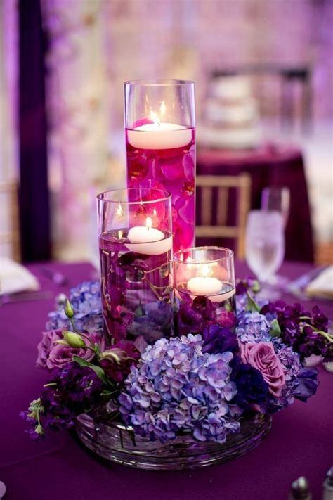 purple wedding centerpieces on pinterest inexpensive simple purple wedding table decorations best 25 purple