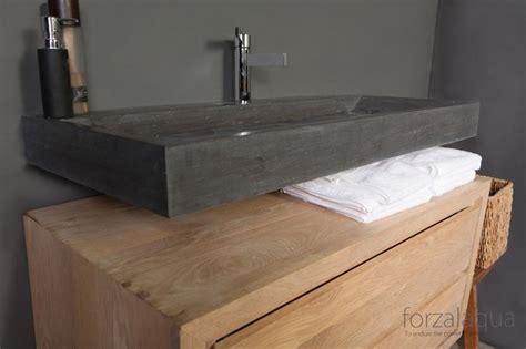 Waschbecken Untertisch Holz by Forzalaqua Waschbecken Bellezza Aus Naturstein Bad