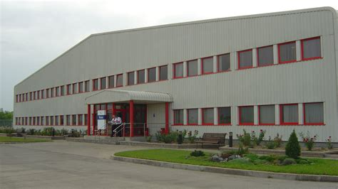 Pin Factory Building On