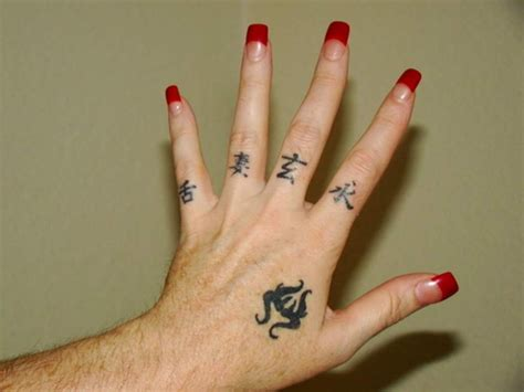 facts about finger tattoos designs and tattoos with