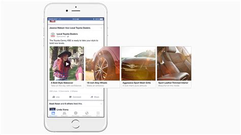 carousel toyota here s how a toyota marketer is already using facebook s