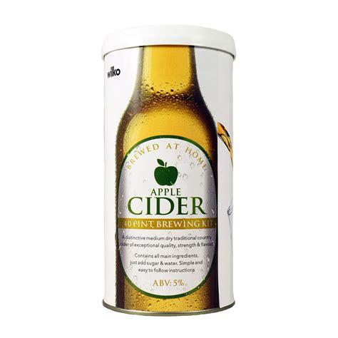 wilko apple cider brewing kit 1 7kg makes 40 pints wilko