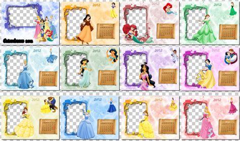Calendario Con Todos Los Meses Calendario 2012 Para Ni 241 Os Princesas Disney Para Cada Mes