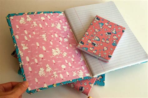 composition notebook pattern fabric aesthetic nest craft fabric covered composition books