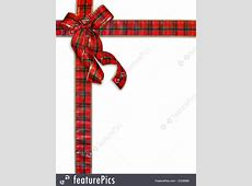 Christmas Present Plaid Bow Background Free Online Christmas Clipart