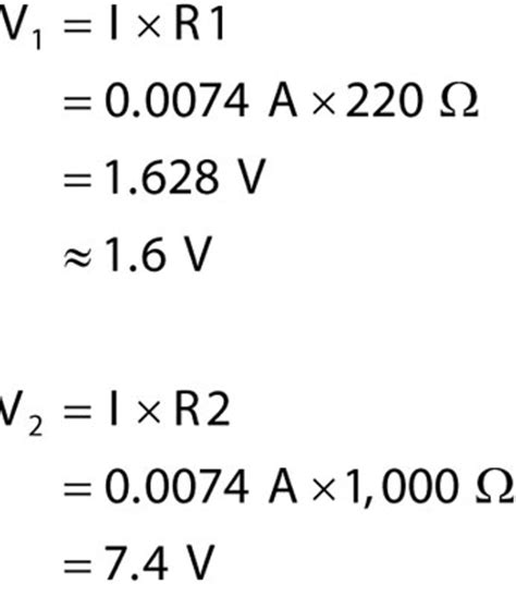 how do you find the voltage drop across a resistor in parallel how to calculate voltage across a component dummies