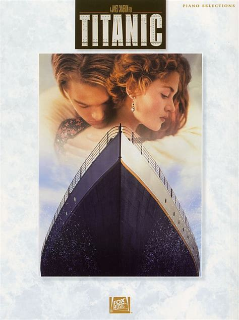 titanic film uk certificate titanic film piano selections pvg sheet music from