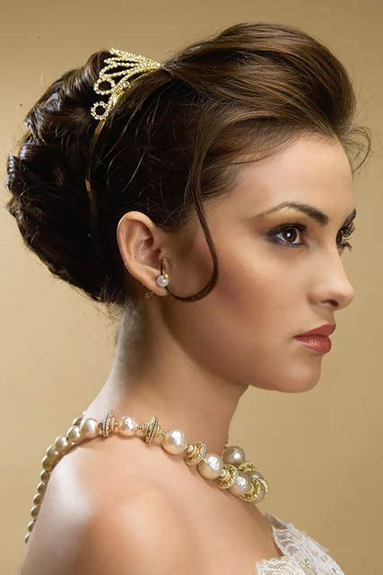 round bun for hair styles wedding bun hairstyle the latest trends in women s