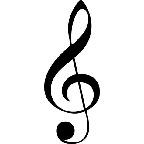 note g g clef musical note icons free download