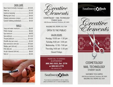 9 Salon Price List Templates Free Sles Exles Formats Download Free Premium Templates Salon Price List Template