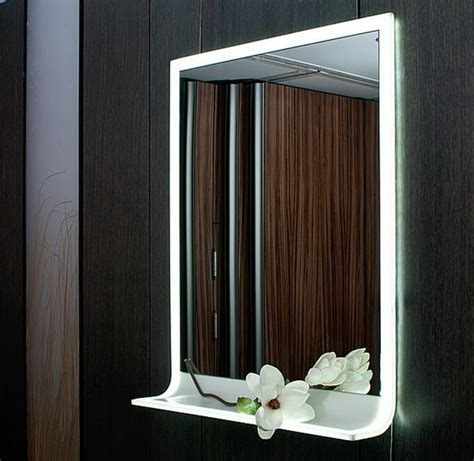 lighted mirrors for bathrooms modern modern lighted mirror designs for the bathroom stylish eve