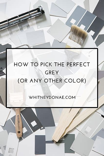 how to pick the perfect gray paint a popular color tips for choosing the perfect grey or any other color